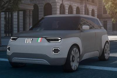 Fiat Concept Centoventi (prototipo) - Foto