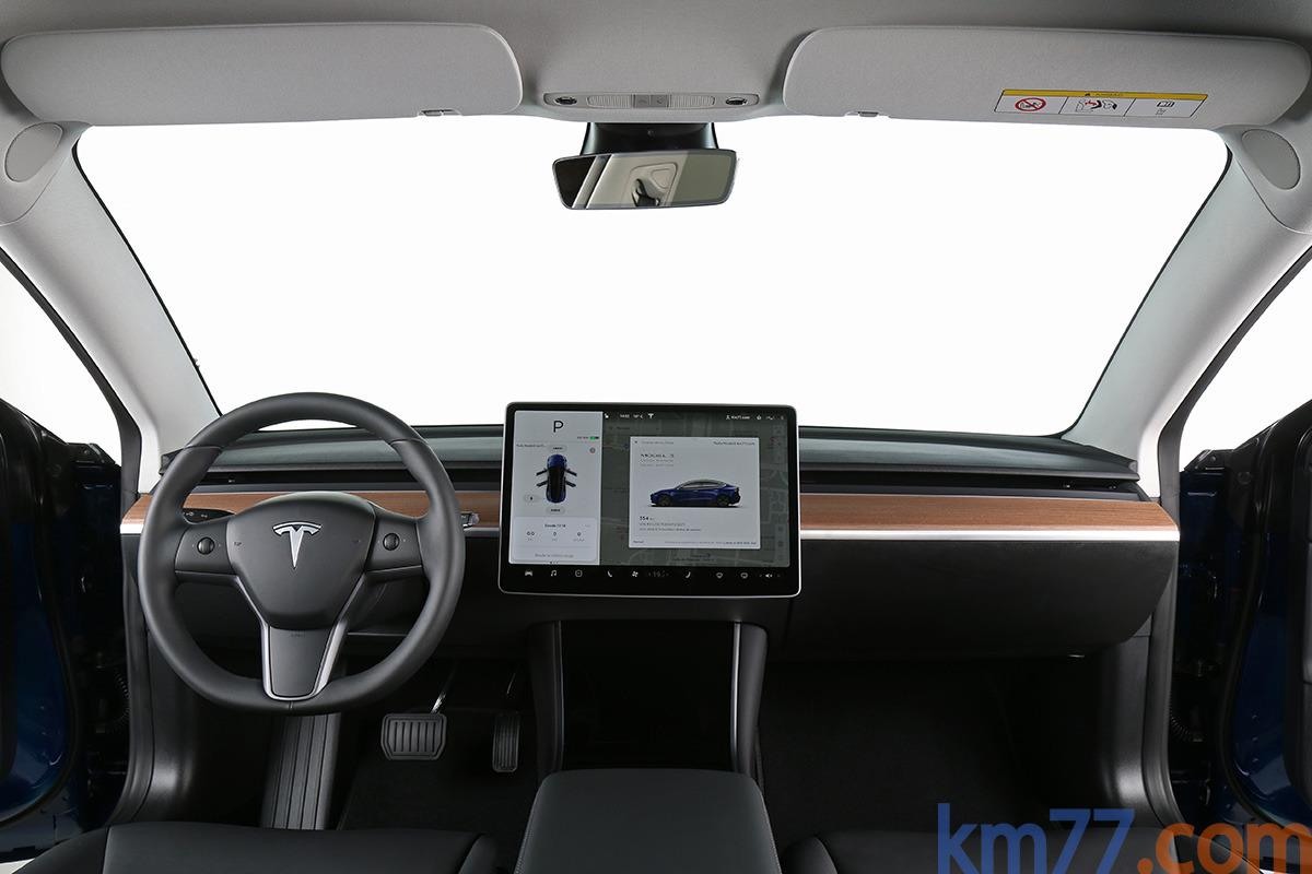 Salpicadero del Tesla Model 3