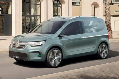 Renault Kangoo Z.E. (prototipo) - Foto
