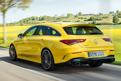 Mercedes-AMG CLA 35 4MATIC Shooting Brake (2020) | Precio - Foto