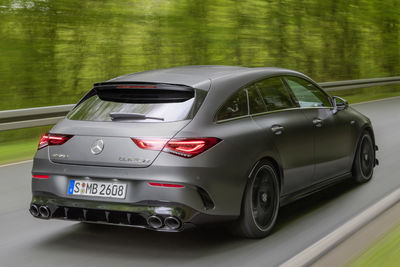Mercedes-AMG CLA 45 4MATIC+ Shooting Brake y CLA 45 S 4MATIC+ Shooting Brake (2020) - Foto