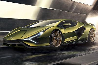 Lamborghini Sián (2020) - Foto