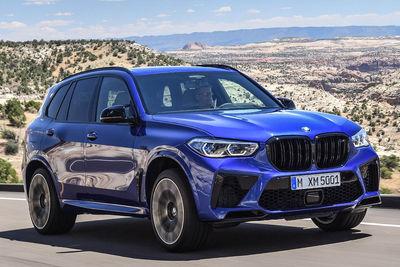 BMW X5 M y X5 M Competition (2020) | Precios - Foto