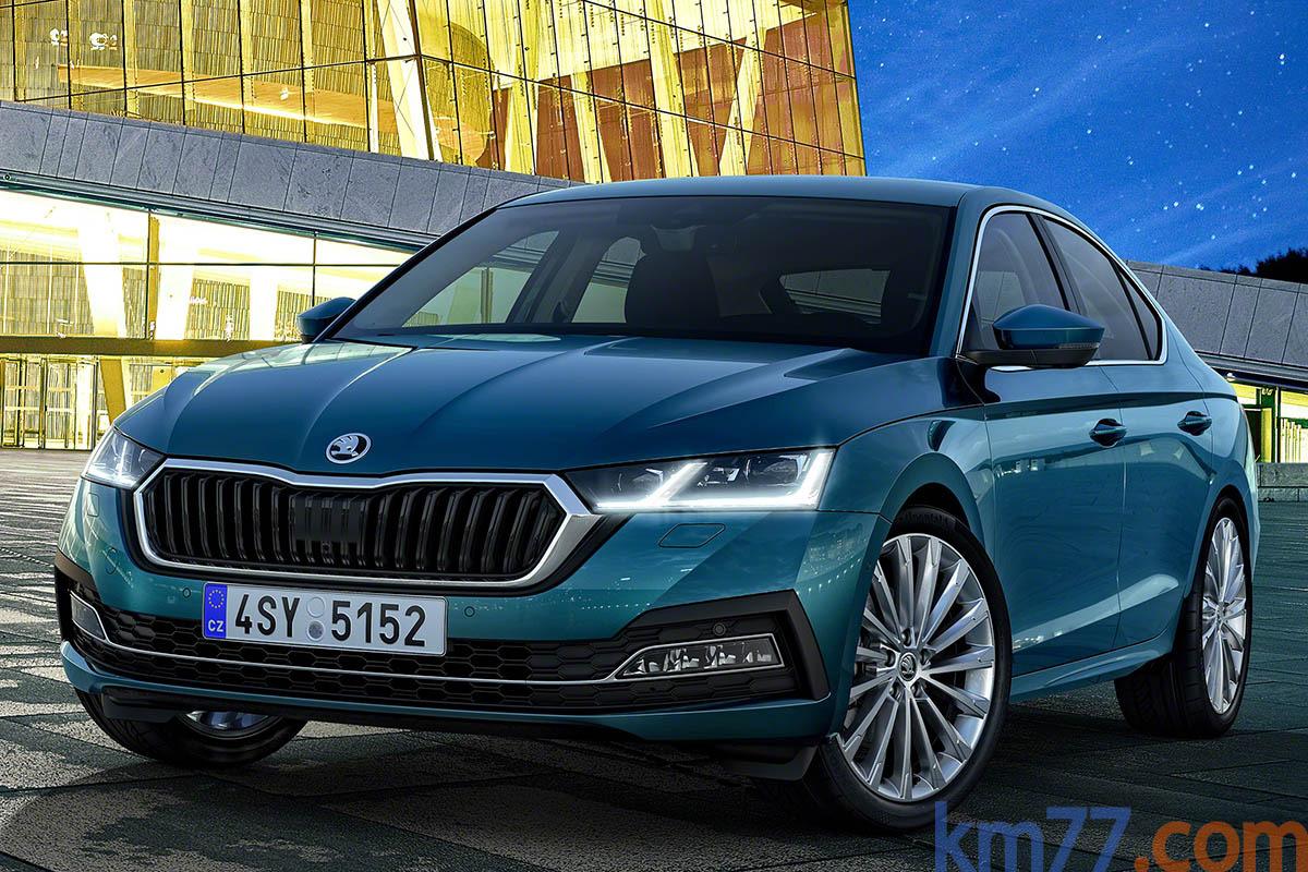 Škoda Octavia mk4 (2020) 3