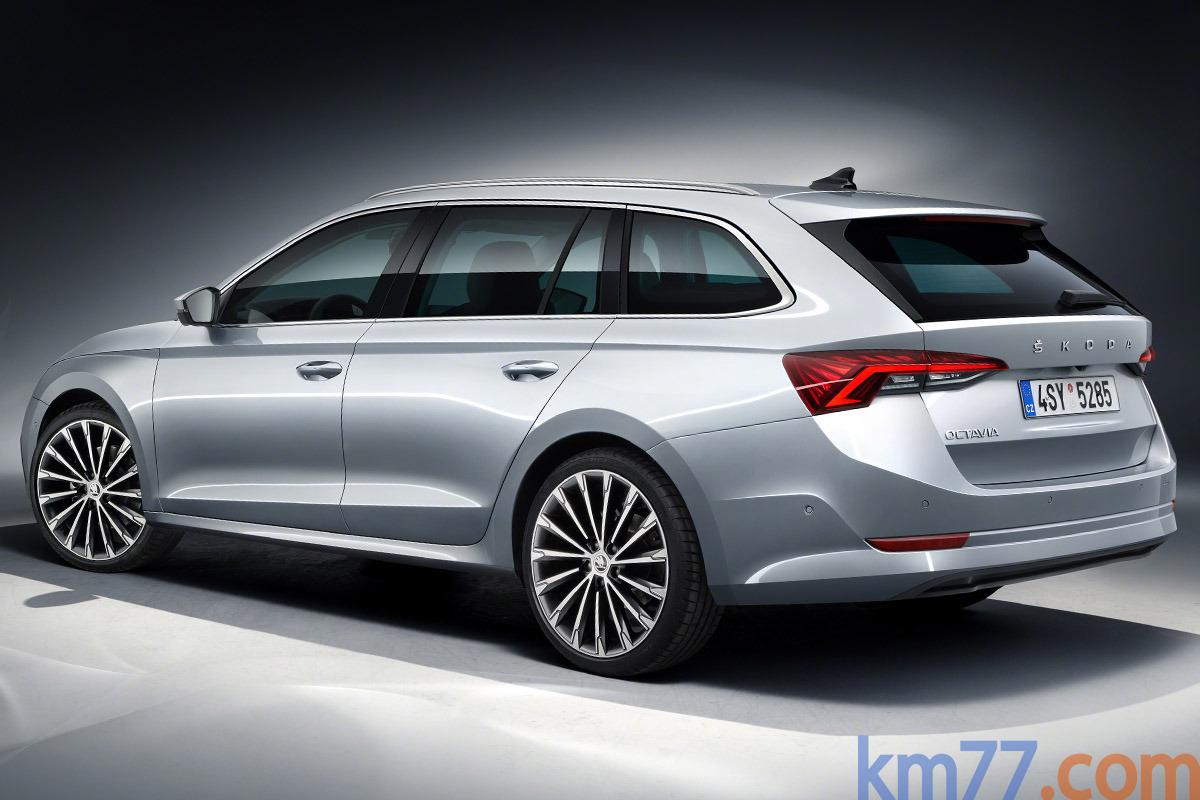 Škoda Octavia mk4 (2020) 10