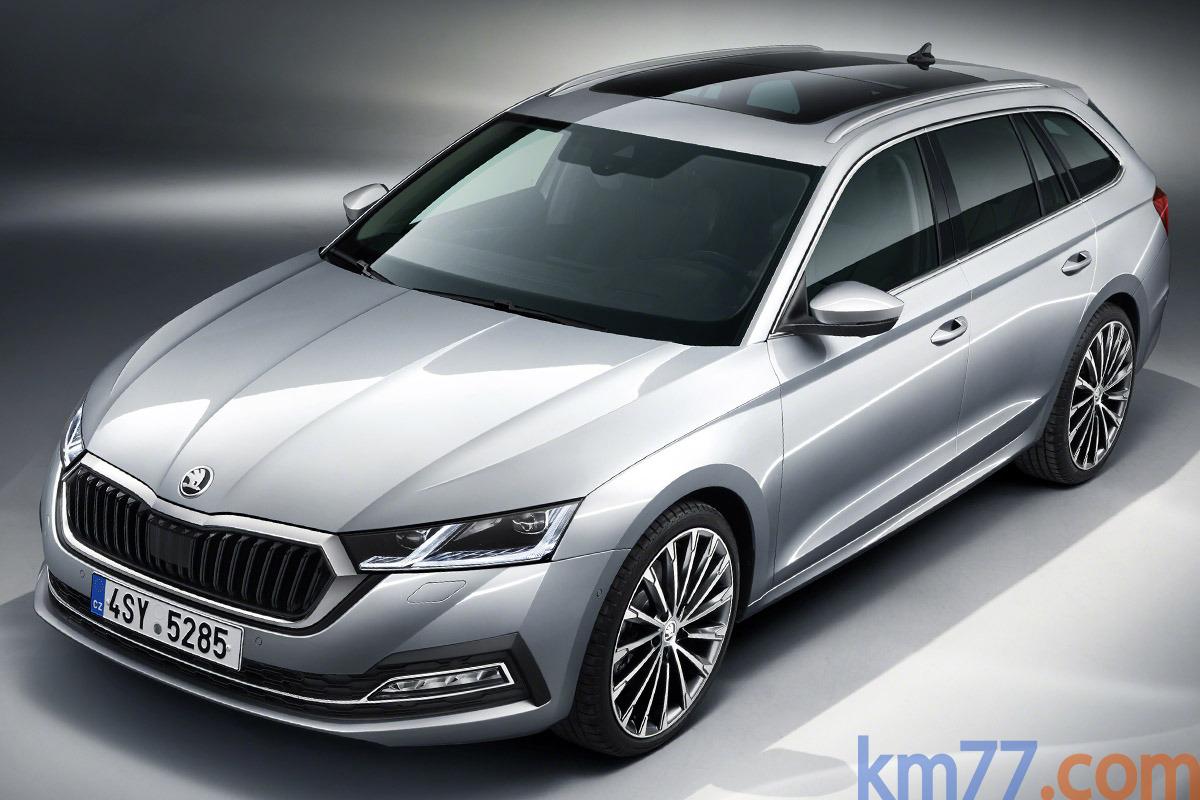 Škoda Octavia mk4 (2020) 12