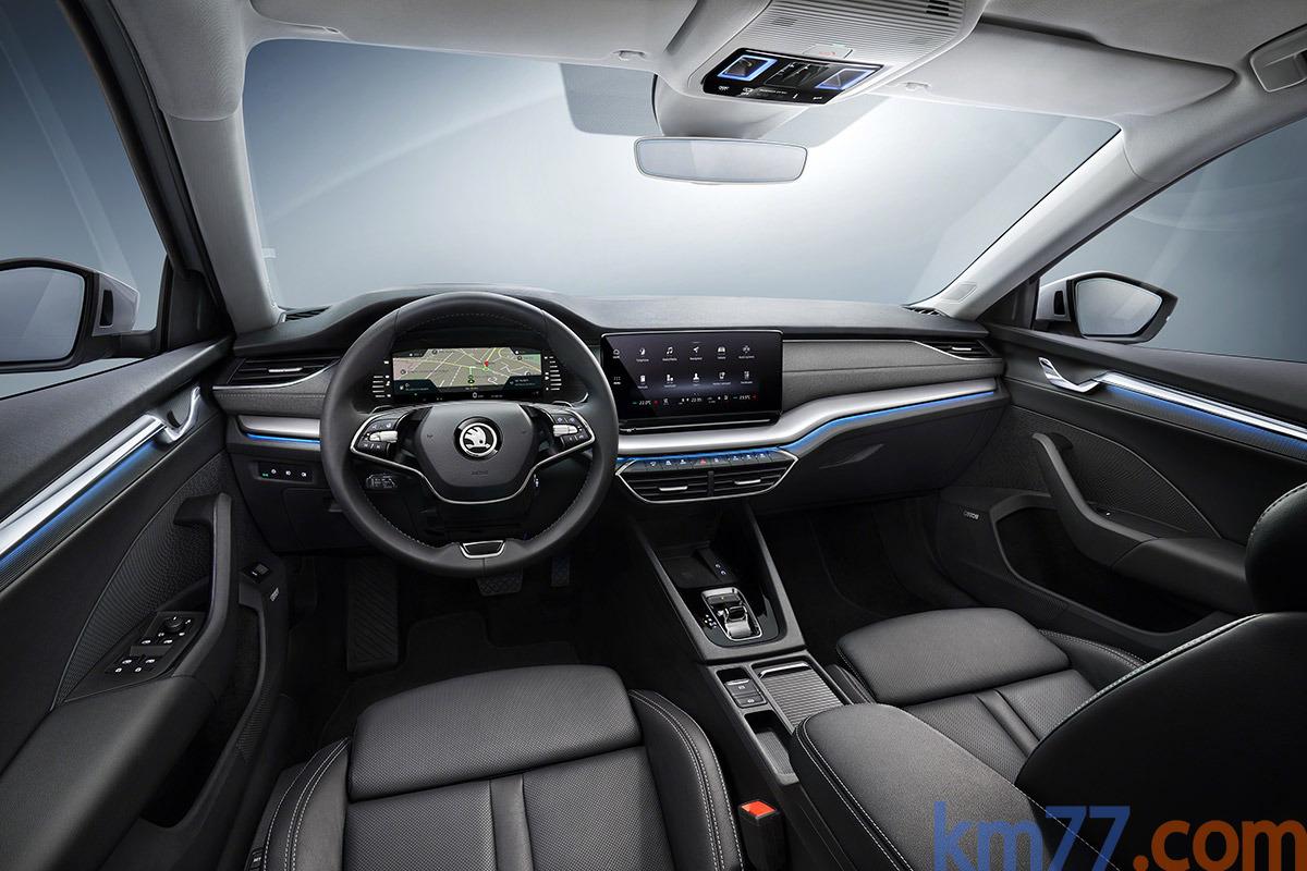 Škoda Octavia mk4 (2020) 15