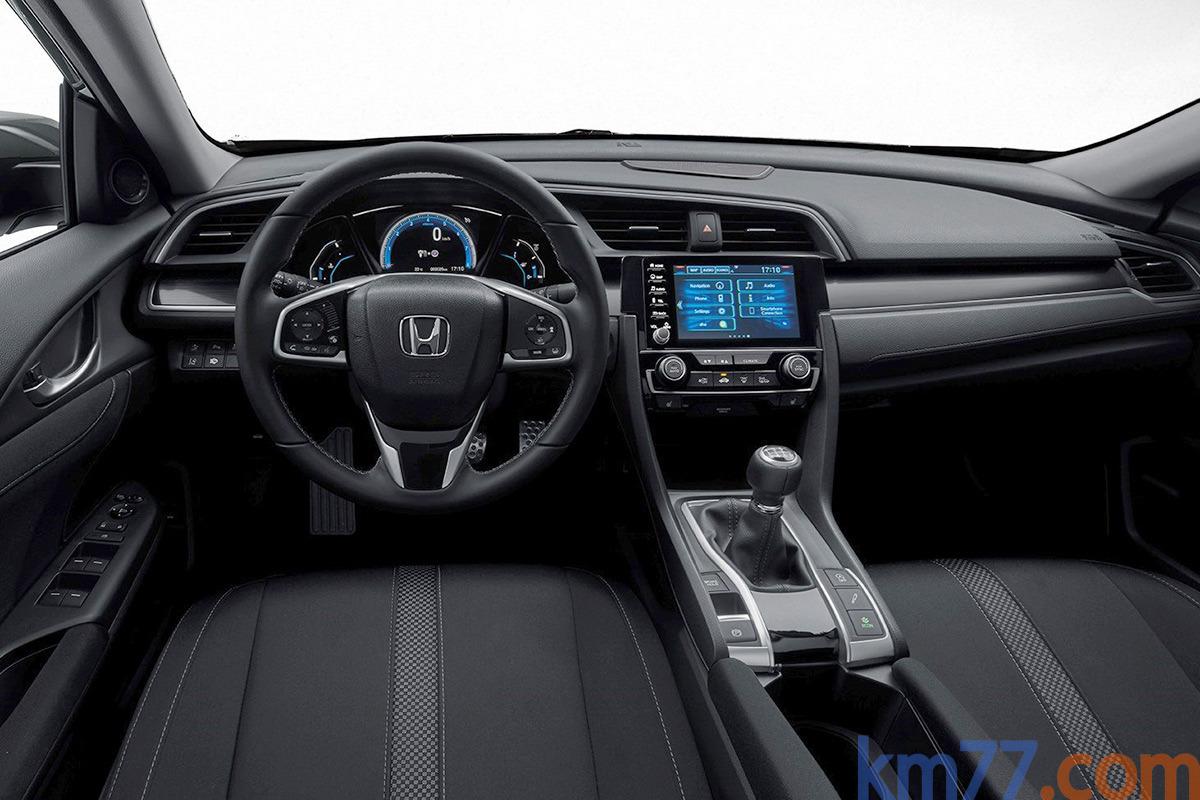 Honda Civic 10ªgen Facelift (2020) 38