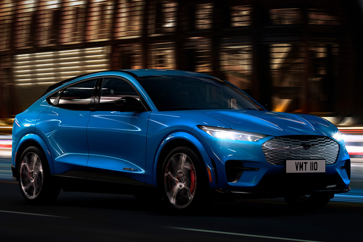2020 Ford Mustang Mach E Suv