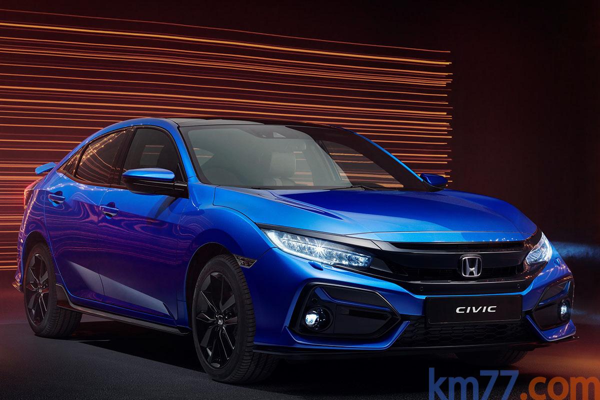 Honda Civic 10ªgen Facelift (2020) 33