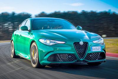 Alfa Romeo Giulia Quadrifoglio (2020) - Foto