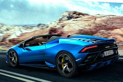 Lamborghini Huracán EVO RWD Spyder (2019) - Foto