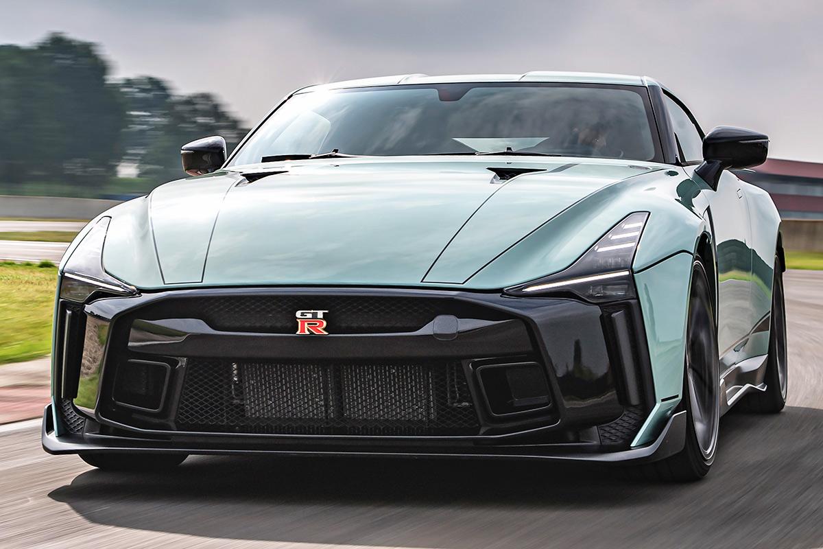 2021 Nissan Gt R Interior