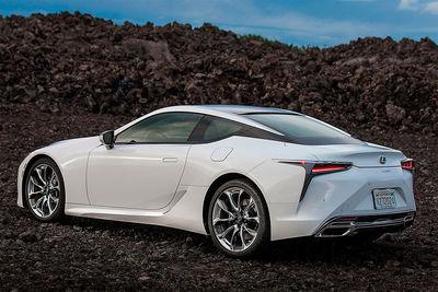 Lexus LC 500h   Actualización - Foto