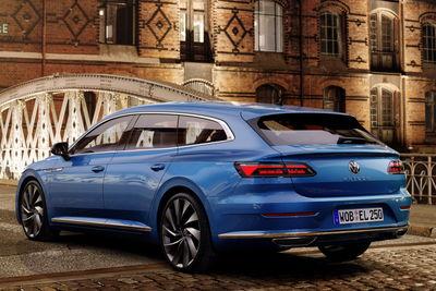 Volkswagen Arteon y Arteon Shooting Brake (2021) - Foto