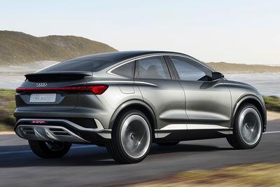 Audi Q4 Sportback e-tron concept (prototipo) - Foto