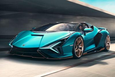 Lamborghini Sián Roadster (2020) - Foto