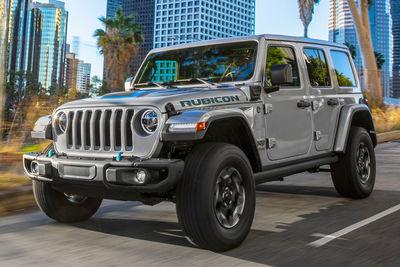 Jeep Wrangler 4xe (2021) - Foto