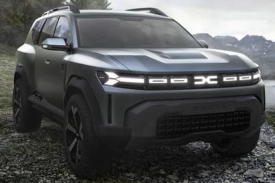 Dacia Bigster Concept (Prototipo) - Foto