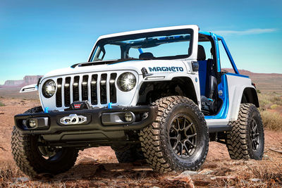Jeep Magneto (Prototipo) - Foto