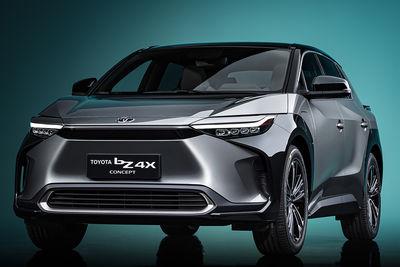 Toyota bZ4X (prototipo) - Foto