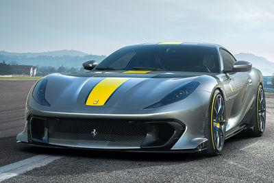 Ferrari 812 Competizione y 812 Competizione A (2021) - Foto