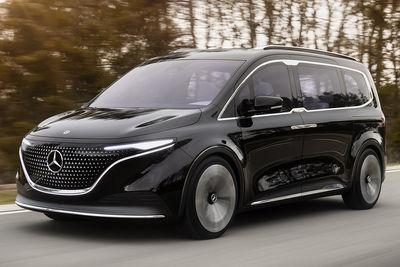 Mercedes-Benz Concept EQT - Foto