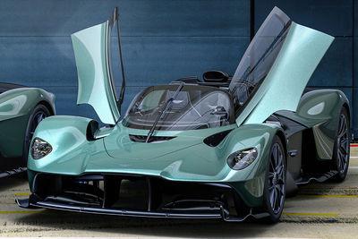 Aston Martin Valkyrie Spider (2022) - Foto