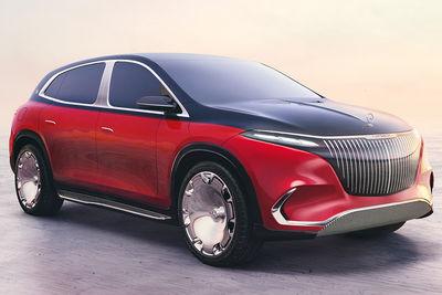 Mercedes-Maybach Concept EQS (prototipo) - Foto